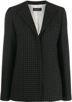 Piazza Sempione Check Tailored Blazer