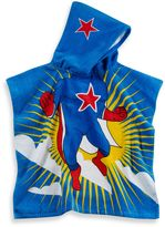 Bed Bath & Beyond Kids Printed Superhero Hooded Beach Towel in Multi/Blue