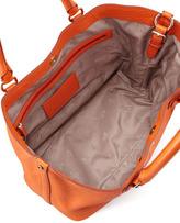 Cole Haan Village Convertible Leather Tote Bag, Orange