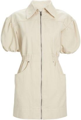 C/Meo Peripheral Cotton Mini Dress