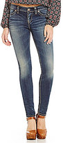 Silver Jeans Co. Suki Mid-Rise Stretch Denim Super Skinny Jeans