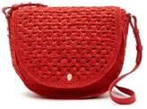 Helen Kaminski Destinee Leather Trimmed Crossbody Bag