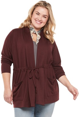 Sonoma Goods For Life Plus Size Long Sleeve Cardigan