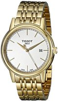 Tissot Men's T0854103302100 Carson Analog Display Swiss Quartz Gold Watch