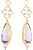 Jude Frances 18K Open Quad Earring Enhancers
