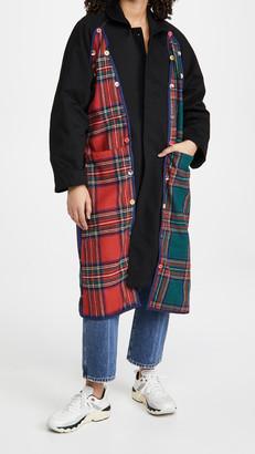 Endless Rose Plaid Coat