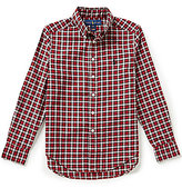 Ralph Lauren Big Boys 8-20 Small-Check Twill Shirt