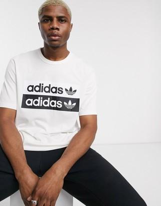 adidas RYV t-shirt in white