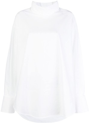 MM6 MAISON MARGIELA long-sleeve oversized shirt