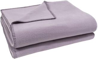 Zoeppritz since 1828 - Soft Fleece Blanket - Pale Lavender