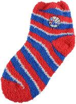 For Bare Feet Philadelphia 76ers Sleep Soft Candy Striped Socks