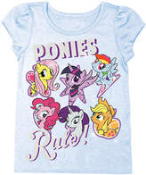 Freeze My Little Pony Light Blue 'Best Friends Forever' Tee - Toddler