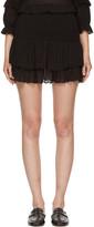 Etoile Isabel Marant Black Yoni Miniskirt