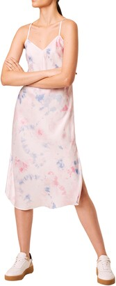French Connection Sadie Tie Dye Slipdress