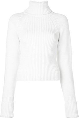 Loewe Ribbed Roll Neck Jumper