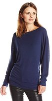 Michael Stars Women's Wide Neck Dolman Tee