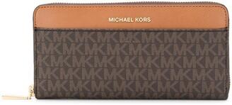 MICHAEL Michael Kors monogram print wallet