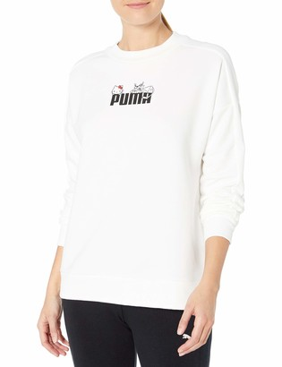 Puma Women's X Hello Kitty Crewneck Sweatshirt
