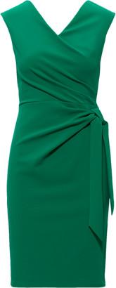 Ralph Lauren Jersey Cap-Sleeve Dress