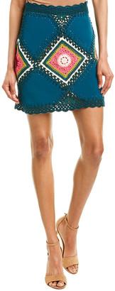 Oscar de la Renta Mini Skirt
