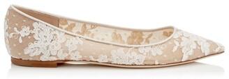 Jimmy Choo Romy Lace Flats