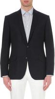 Richard James Single-breasted wool travel blazer