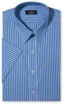 Club Room Men's Regular Fit Short Sleeve Dress Shirt, Stripe