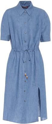 Altuzarra Exclusive to Mytheresa Jax linen midi shirt dress