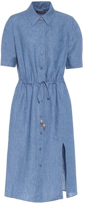 Altuzarra Exclusive to Mytheresa Jax linen midi shirt dress