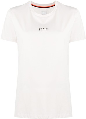 Paul Smith graphic-print cotton T-shirt