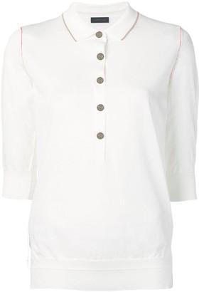 Eudon Choi 3/4 Sleeves Polo Shirt