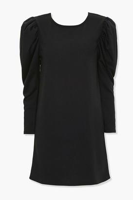 Forever 21 Pickup-Sleeve Mini Dress