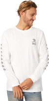 RVCA First Positions Ls Mens Tee White