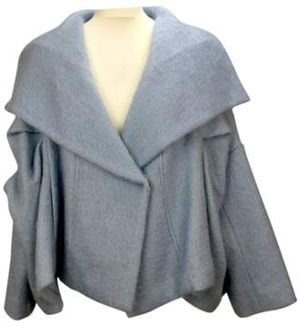 Betty Jackson Blue Wool Jacket for Women