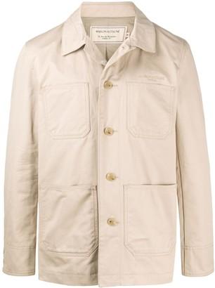 MAISON KITSUNÉ Four-Pocket Single-Breasted Coat