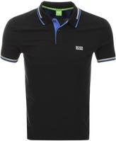 BOSS GREEN Paul Jersey Polo T Shirt Black