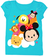 Freeze Disney Tsum Tsum Turquoise Rainbow Tee - Toddler