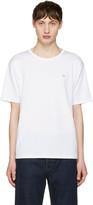 Acne Studios White Niagara Face T-Shirt