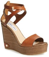 Jimmy Choo Women's 'Noelle' Platform Wedge Sandal