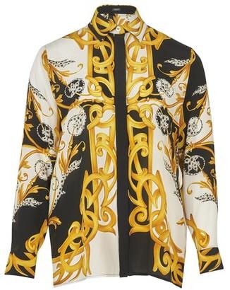 Versace Barocco long sleeve shirt