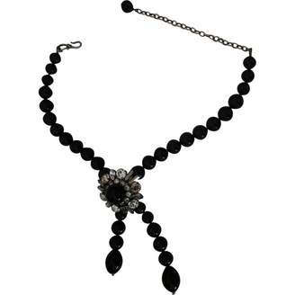 Jacques Fath Anthracite Pearls Necklaces