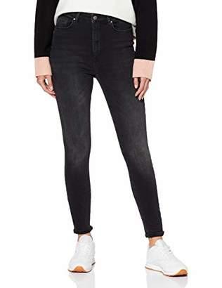 3.1 Phillip Lim ONLY NOS Women's Onlgosh Hw Sk ANK Bb Rea10135 Noos Skinny Jeans, Black Denim, (Size
