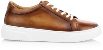 Eleventy Super Sole Leather Sneakers