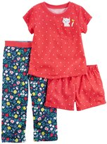 Carter's 3 Piece Floral PJ Set - Print - 12