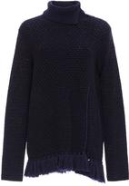 Proenza Schouler Tassel Hem Turtleneck Sweater