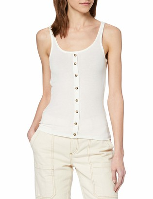 Noisy May Women's NMHENLEY S/L TOP NOOS T-Shirt