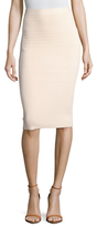 Narciso Rodriguez Textured Pencil Skirt