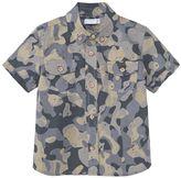 MANGO Boys Camouflage Print Shirt