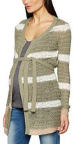 Mama Licious MAMALICIOUS Women's MLLESLEY L/S KNIT CARDIGAN Maternity Cardigan