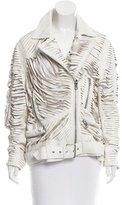 Acne Studios Leather Slit Jacket w/ Tags